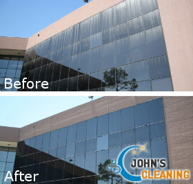 Window Cleaning Before After
